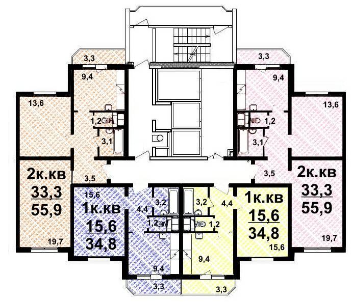 1 и 2-х комнатные квартиры на