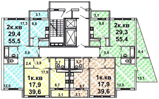 01. балкон - серия дома гмц 1.
