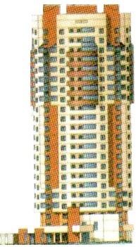 Новостройка на ул.Свердлова 43Г Балашиха-2 -монолитно-кирпичный 22-х этажный